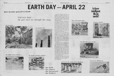 Earth Day as a Black Swan – Byron Kennard's Capers